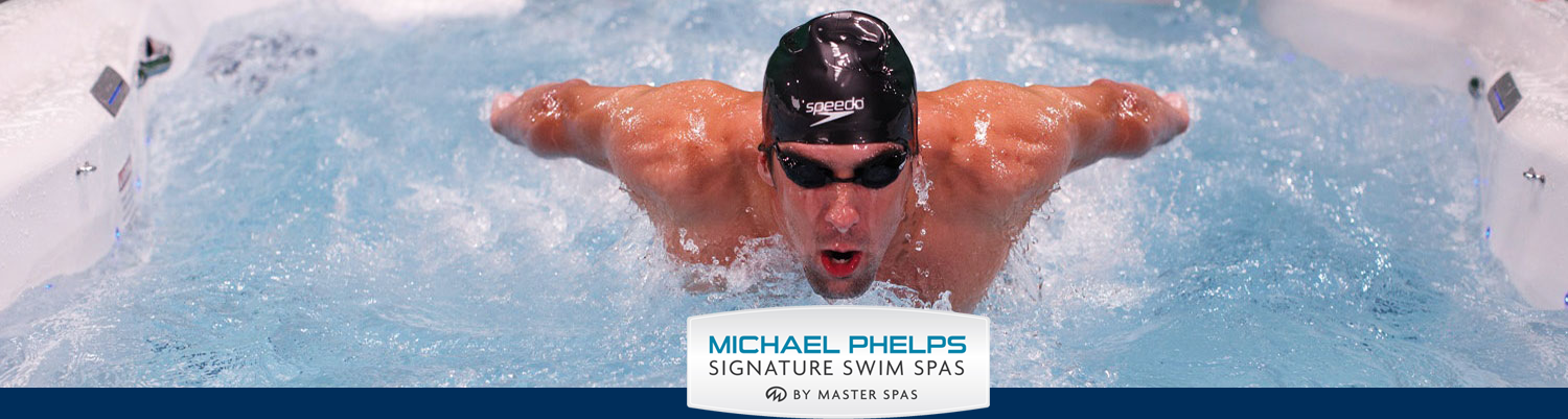 MichealPhelps Swim Spa